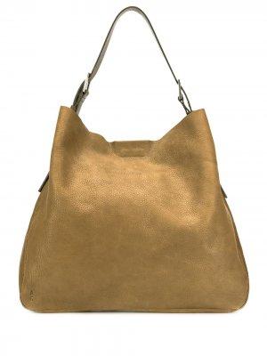 Большая сумка на плечо Cleve Ally Capellino. Цвет: зеленый