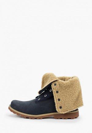 Ботинки Timberland 6 In WP Shearling Boot. Цвет: синий
