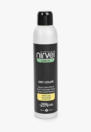Краска для волос Nirvel Professional GREEN, блонд, 300 мл. Цвет: белый
