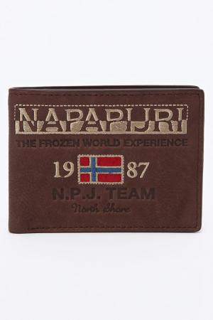 Кошелек Napapijri Bags. Цвет: коричневый