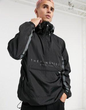 Черная куртка-анорак -Черный The Hundreds
