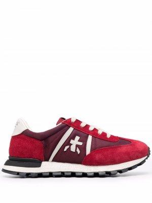 Кроссовки со вставками Premiata. Цвет: красный