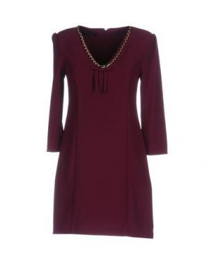 Короткое платье ANNARITA N. Цвет: розовато-лиловый