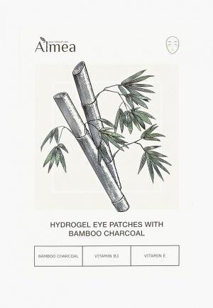 Патчи для глаз Almea с бамбуковым углем (2 пары, размер 70 х 100 мм). Цвет: прозрачный
