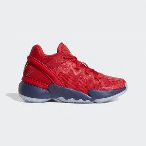 Баскетбольные кроссовки D.O.N. Issue #2 Performance adidas. Цвет: золотой