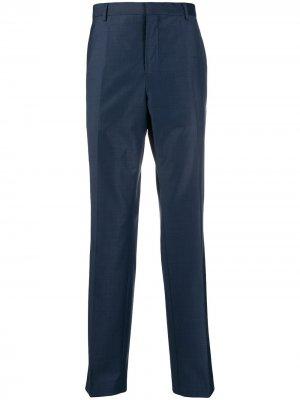 Костюмные брюки Calvin Klein. Цвет: синий