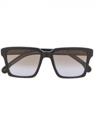 Солнцезащитные очки Austin в квадратной оправе PAUL SMITH EYEWEAR. Цвет: черный