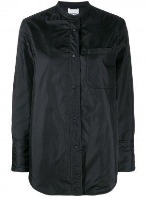 Куртка-рубашка с длинными рукавами Aspesi. Цвет: черный