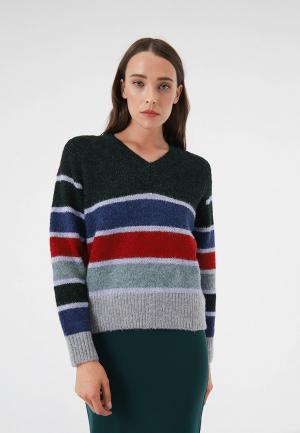 Пуловер Lime. Цвет: разноцветный