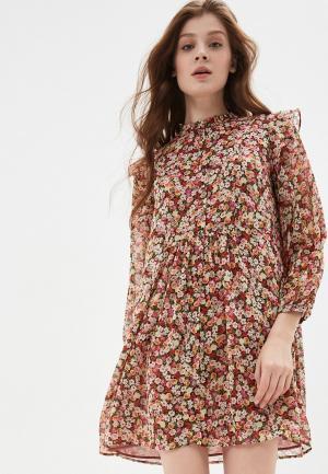 Платье Mango - BOBO. Цвет: разноцветный