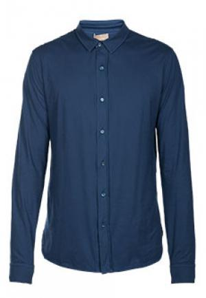 Рубашка CRUCIANI. Цвет: синий
