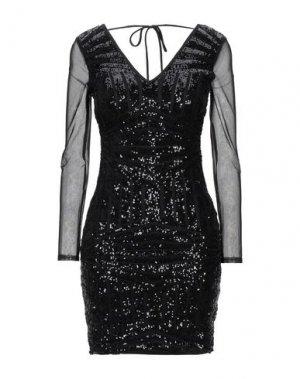 Короткое платье LIPSY. Цвет: черный