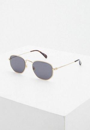 Очки солнцезащитные Givenchy GV 7147/S 2F7. Цвет: золотой