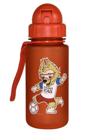 Бутылка детская 0,4 л FIFA licensed products. Цвет: красный