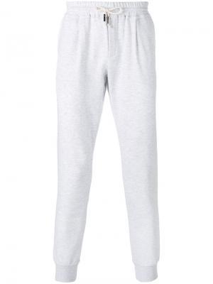 Классические спортивные брюки Eleventy. Цвет: серый