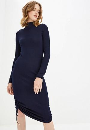 Платье Carven. Цвет: синий