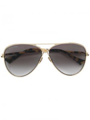 Aviator sunglasses Altuzarra. Цвет: коричневый
