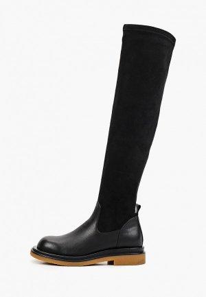 Ботфорты Just Couture. Цвет: черный