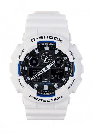 Часы Casio G-SHOCK GA-100B-7A. Цвет: белый
