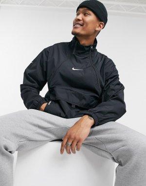Черная ветровка Air-Черный Nike