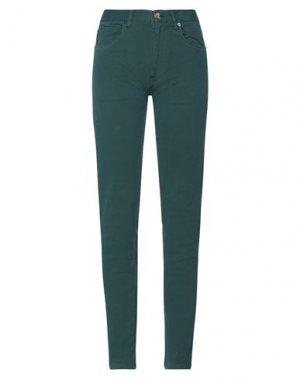 Повседневные брюки HENRY COTTON'S. Цвет: темно-зеленый