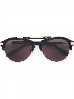 Солнцезащитные очки Luz del Viaje Frency & Mercury. Цвет: черный