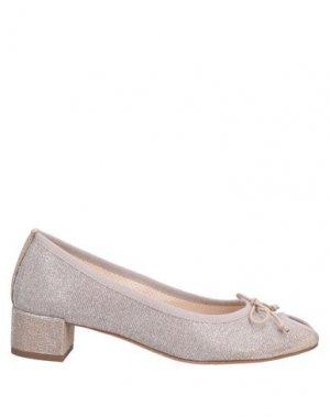 Туфли BALLERINA. Цвет: серый