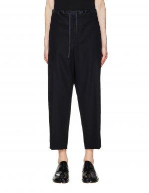 Черные брюки со стрелками Jil Sander