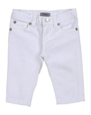 Джинсовые брюки GRANT GARÇON BABY. Цвет: белый