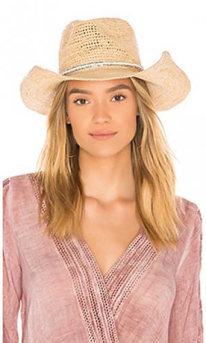 Шляпа cody ale by alessandra. Цвет: коричневый