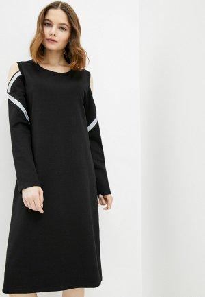 Платье El Fa Mei. Цвет: черный