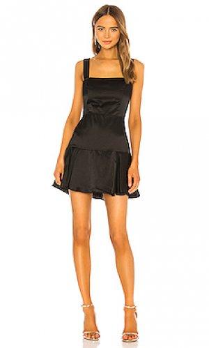 Мини платье amelyn Amanda Uprichard. Цвет: черный