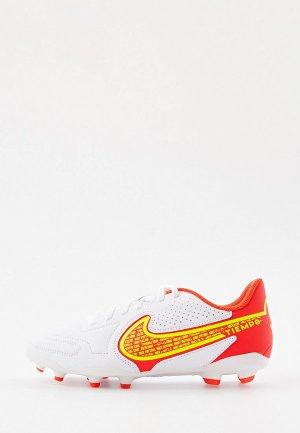 Бутсы Nike JR LEGEND 9 CLUB FG/MG. Цвет: белый