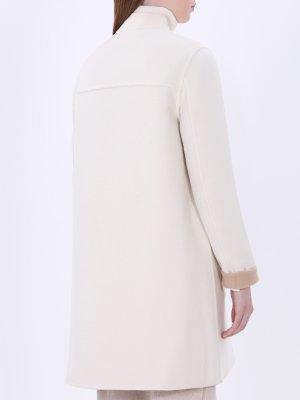Пальто с нижней курткой на пуху MONCLER