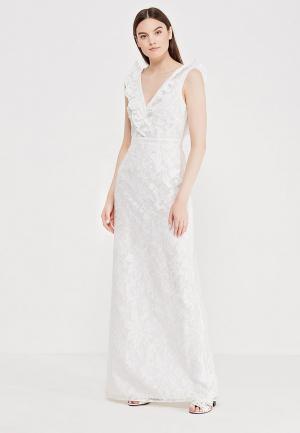 Платье LOST INK THE WARDROBE- ABRIELLE ORGANZA BURNOUT BRIDAL DRESS. Цвет: белый