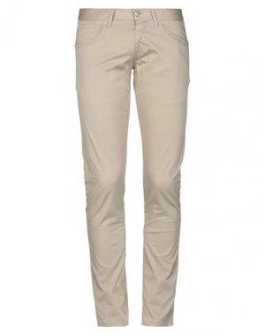 Повседневные брюки 2 MEN. Цвет: песочный