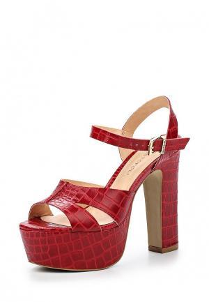 Босоножки Cristofoli CR574AWHHA80. Цвет: бордовый, красный