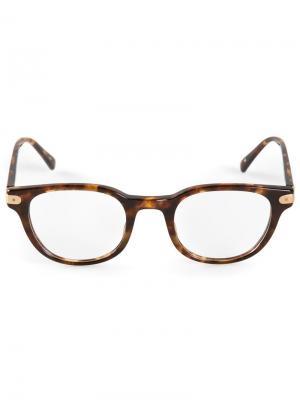 Очки в черепаховой оправе Eyevan7285. Цвет: коричневый