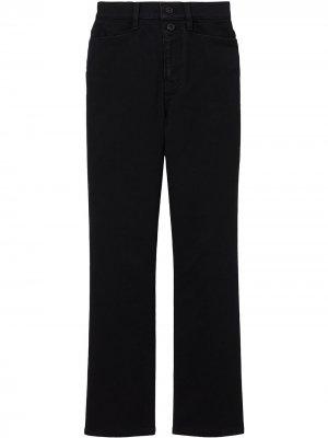 Расклешенные джинсы Proenza Schouler White Label. Цвет: черный