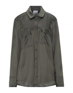 Pубашка JIJIL. Цвет: темно-зеленый