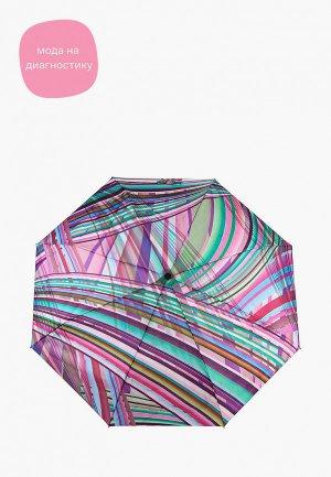 Зонт складной Doppler. Цвет: разноцветный