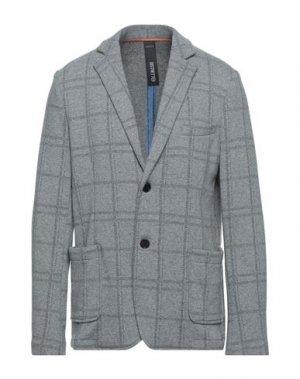 Пиджак DISTRETTO 12. Цвет: светло-серый