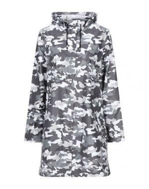 Легкое пальто STUTTERHEIM. Цвет: свинцово-серый