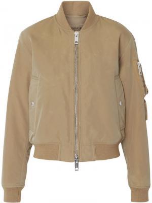 Куртка-бомбер с нарукавным карманом Burberry