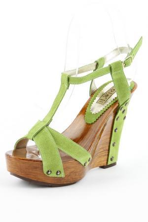 Туфли Gioie Italiane. Цвет: зеленый