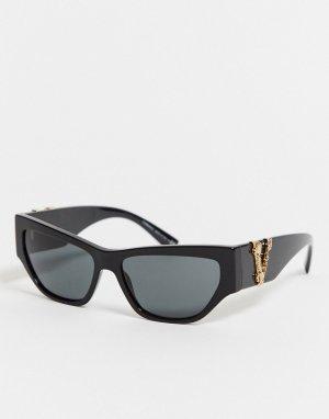Солнцезащитные очки кошачий глаз OVE4383-Черный Versace
