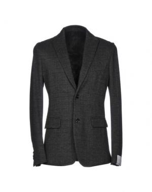 Пиджак PAOLO PECORA. Цвет: свинцово-серый