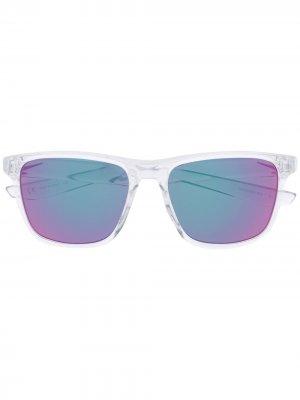 Футуристичные солнцезащитные очки Nike. Цвет: нейтральные цвета