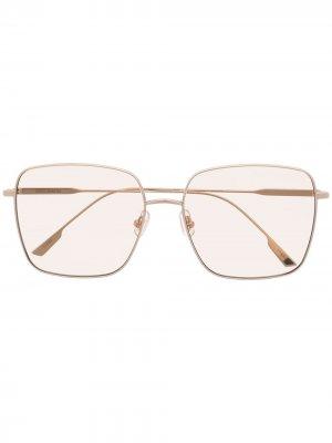 Солнцезащитные очки Diane Gentle Monster. Цвет: золотистый