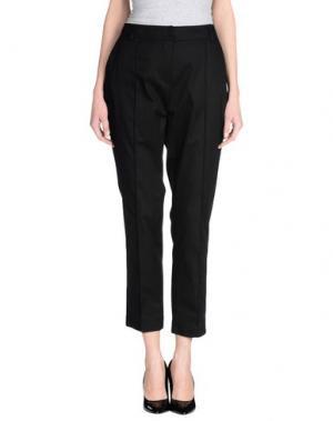 Повседневные брюки CLIPS. Цвет: черный